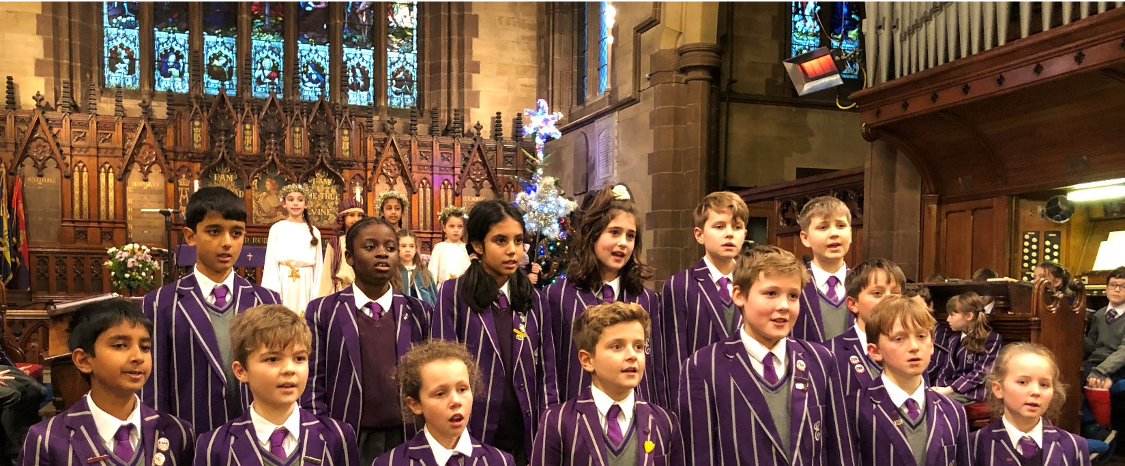 School Choir - Carol Service