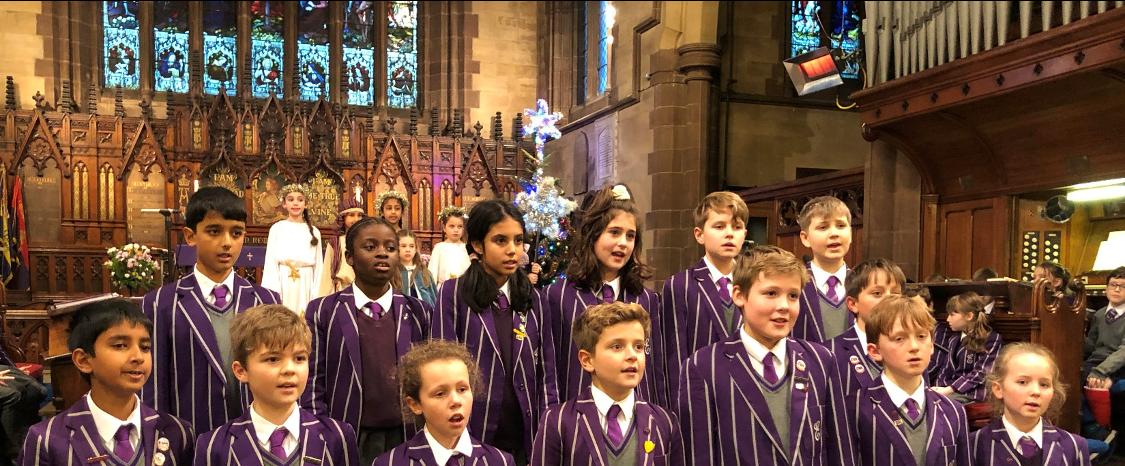 School Choir - Carol Service